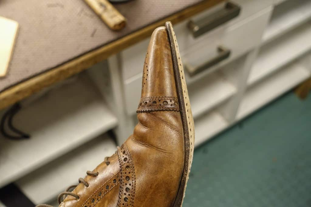 No risk to the midsole needs to be replaced, however, apparently is a great deal left of it, and even toe fared.
