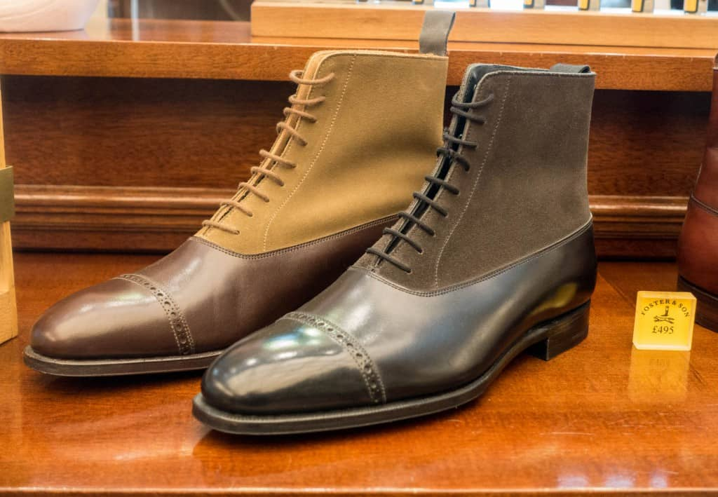 Balmoral boots from the standard RTW range.