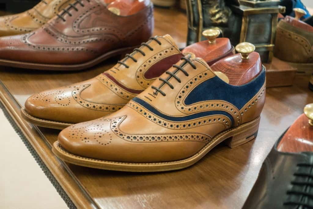 A special two tone brogue.
