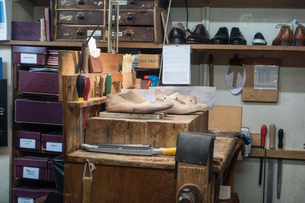 Part of the workshop which is right next to the shop section.