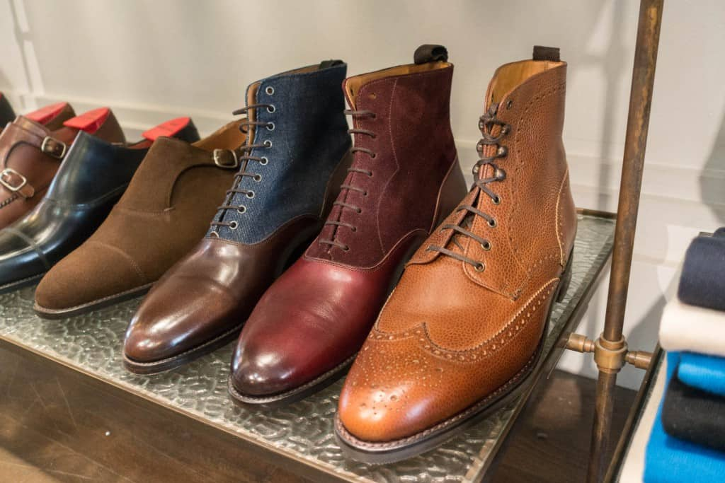Some boots, when fall comes there will be several more on the shelves.