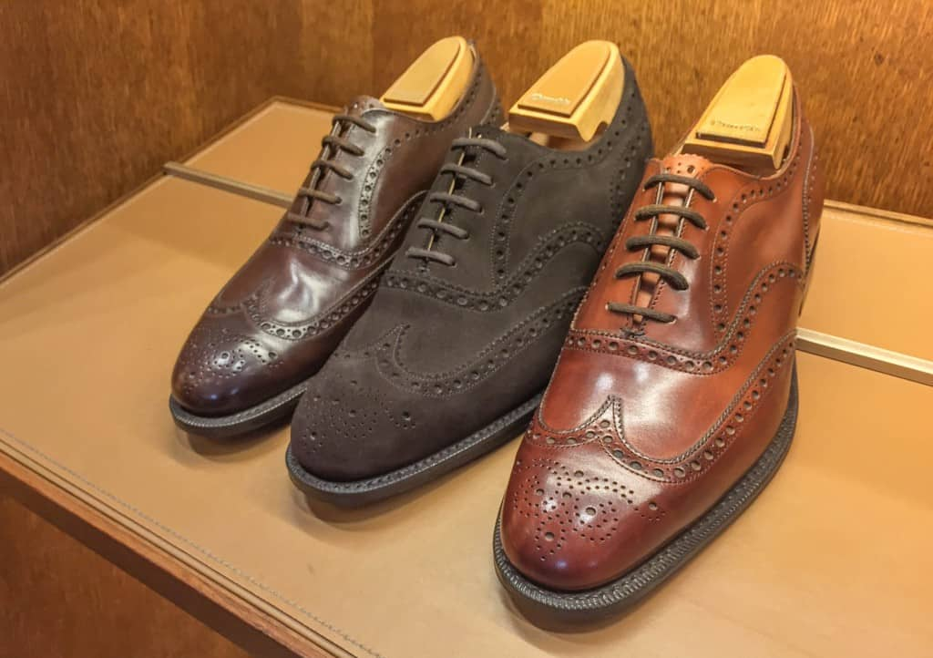 More full brogues, this time oxfords.