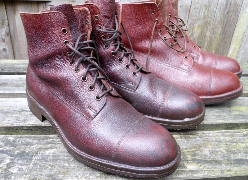 Heavy Veldschoen constructed boots, that can take a lot of beating and water. Picture: