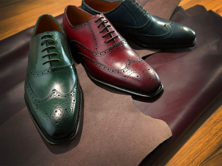 Colorful Full brogues from Singapore based Ed Et Al. Picture: TravelOpa