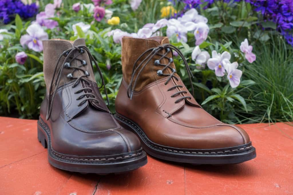 The Ginkgo boot is Heschung's most iconic model, which almost all retailers have.