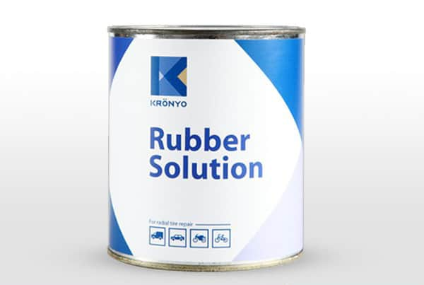 One of several types of rubber adhesive used for shoemaking.