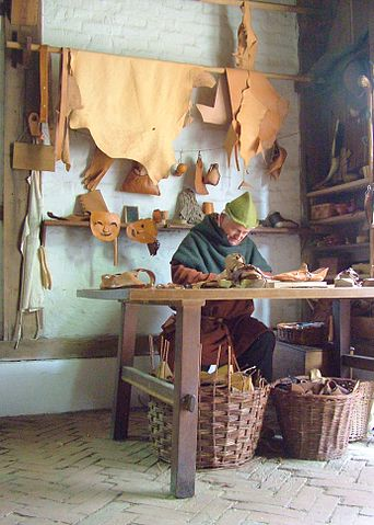This is how a shoemaker workshop could look at that time. Picture: Apex 27