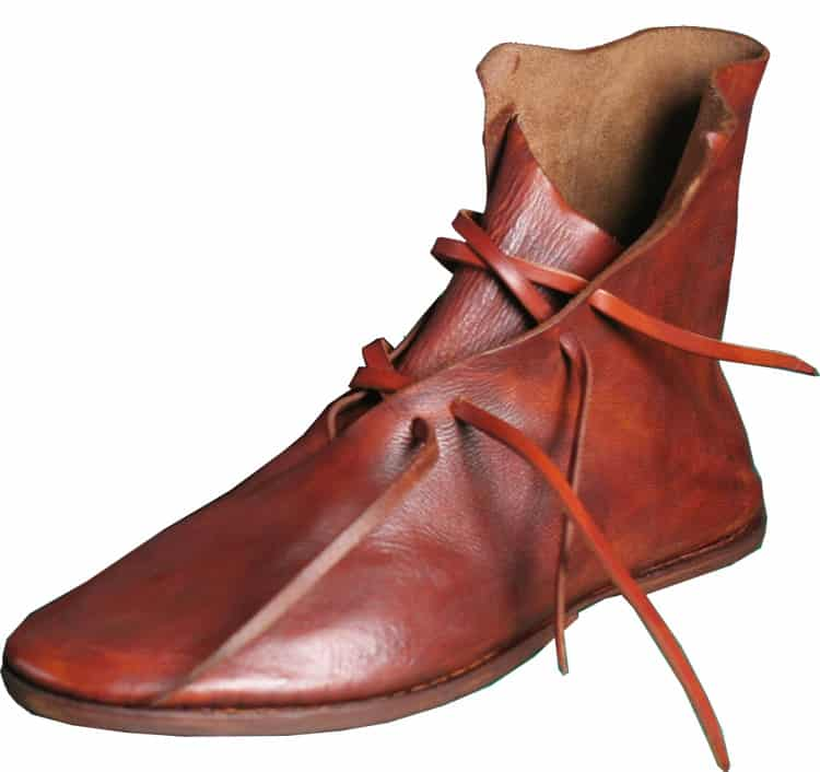 Replica of a welted shoe from the 1600's. Picture: Medieaval Design
