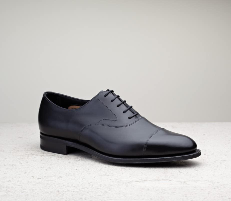 Chelsea, black calf, 82 last, R1 rubber sole.