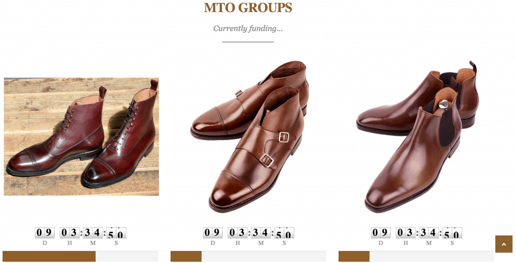 Their group-MTO section on the website.