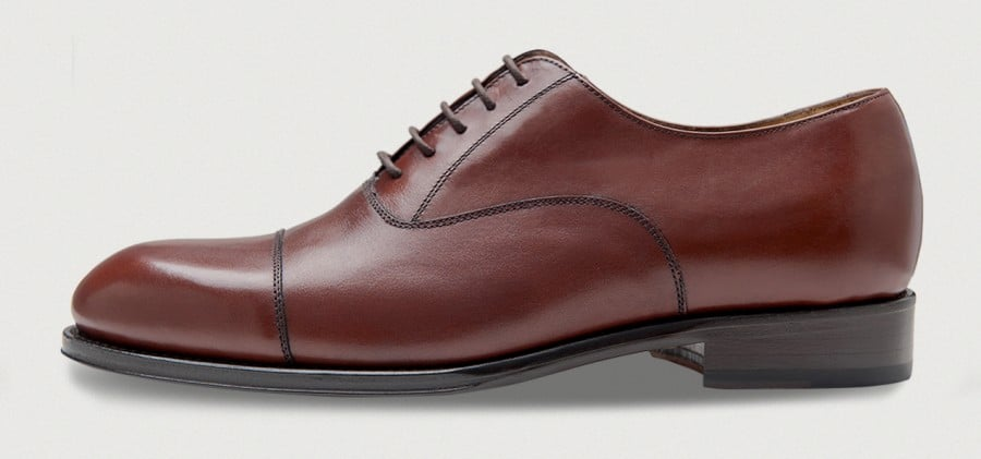 Picture from the side of a shoe from Crownhill Shoes. Picture: Crownhill Shoes