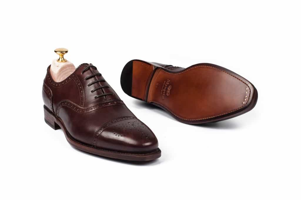 The semi brogue Strömsö, one of three models initally offered.