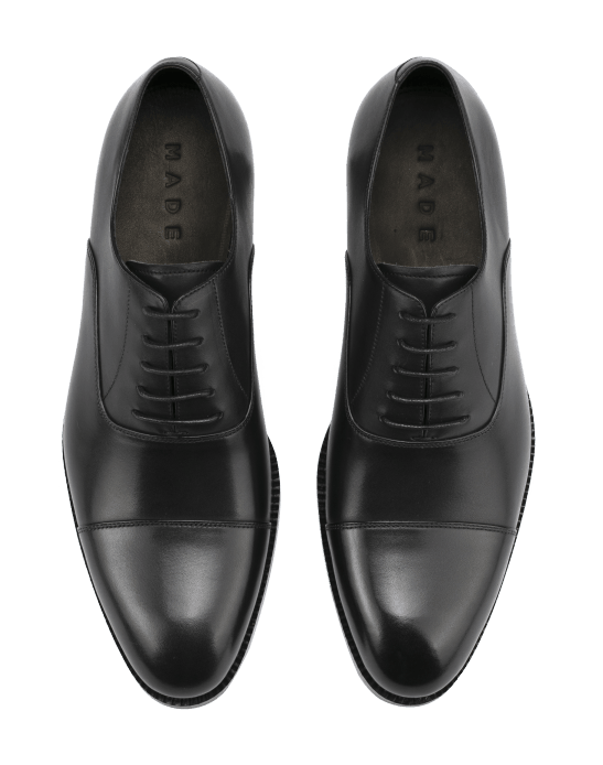 ...and the mandatory plain cap toe oxford. All pictures: MADE