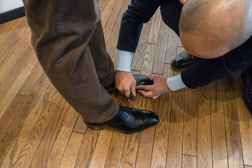 For me their were fine in length but too narrow. Yohei marks different things on the shoes.