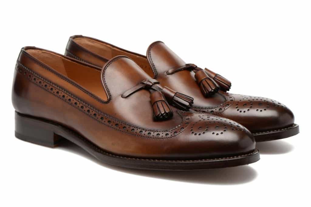A bold version of the tassel loafer. Pictures: Sarenza