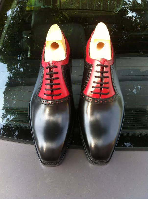 Really nice two tone oxford.