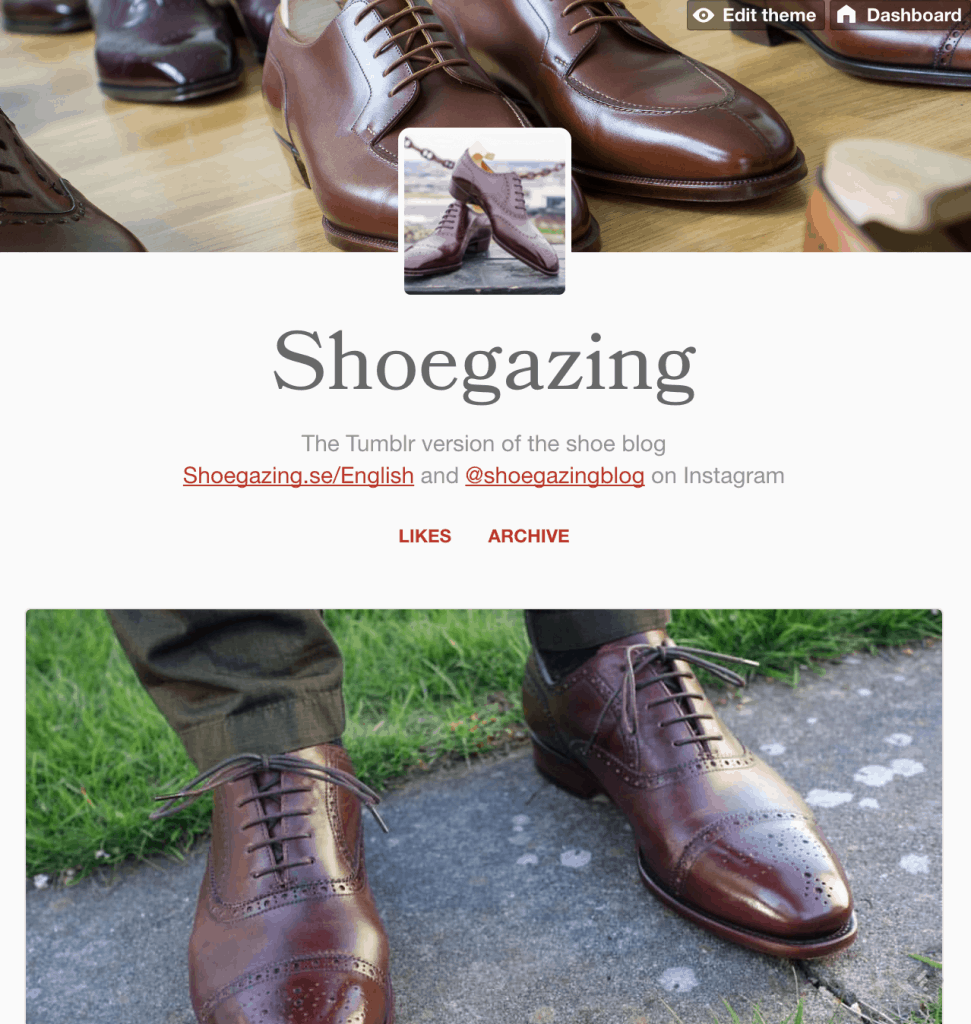 My new Tumblr blog.