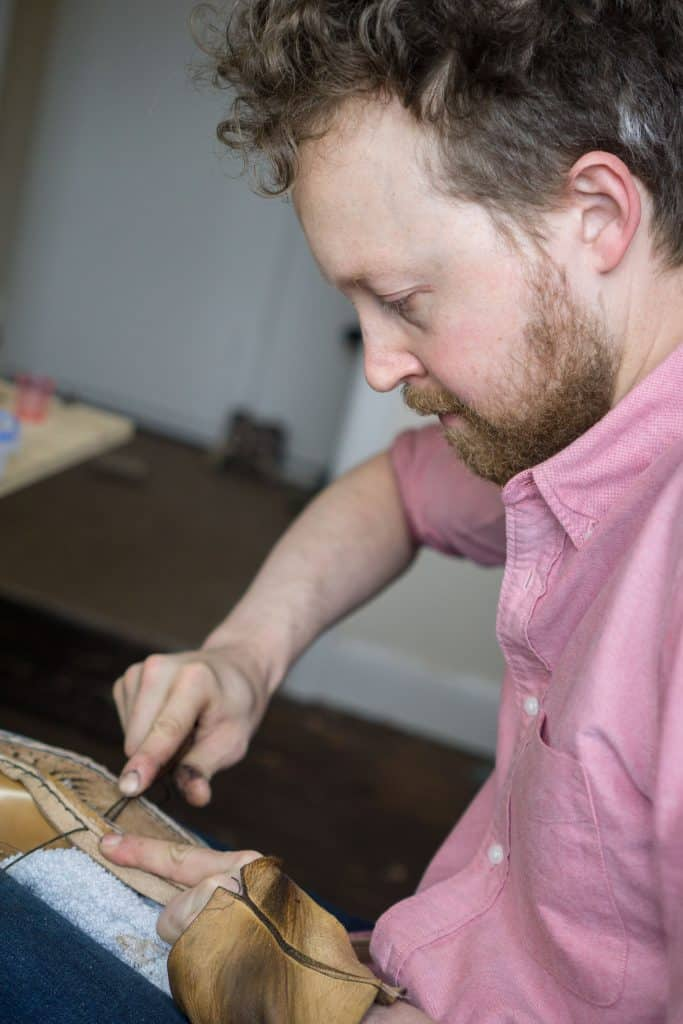 Daniel hand welting.
