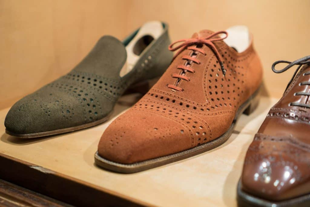 Really interesting, airy summer shoes.