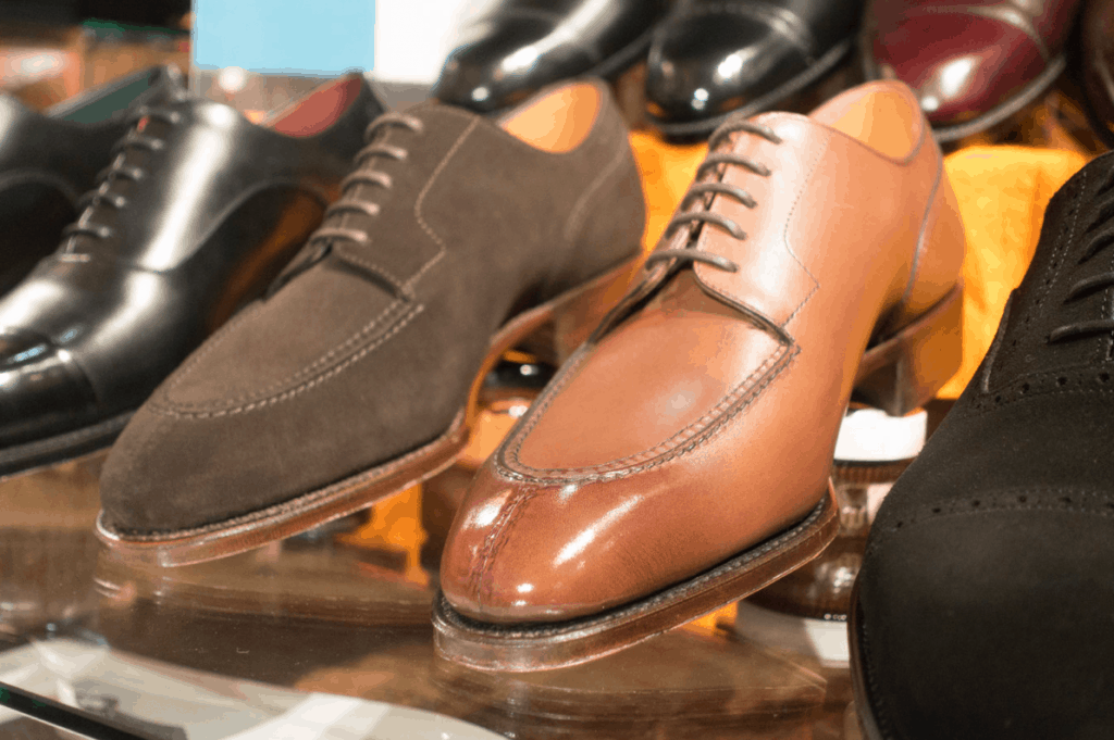 Split toe derbys from the Japanese brand Perfetto.