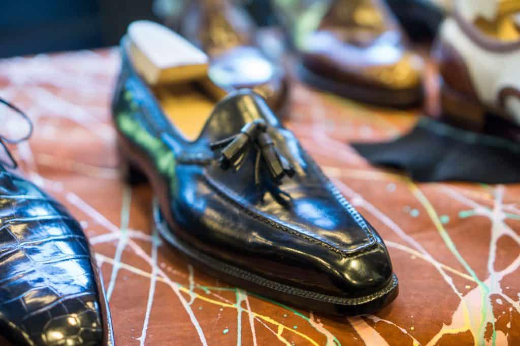 Ugolini tassel loafers.