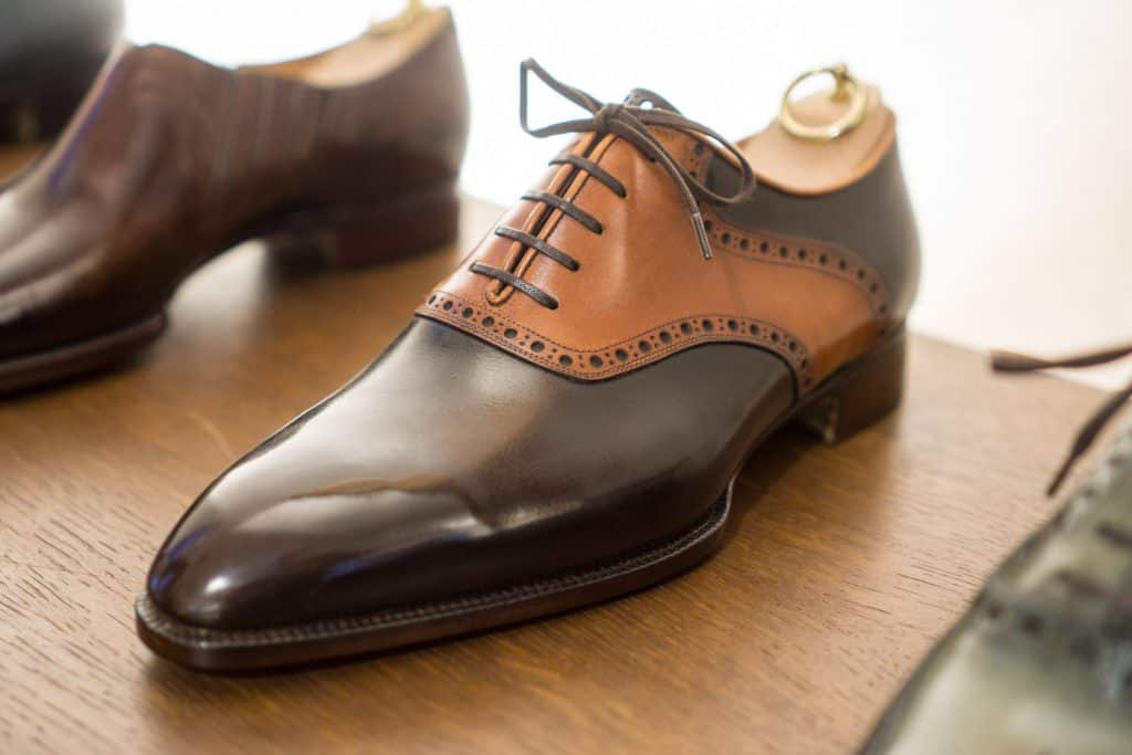 My favourite of all the shoes at Bemer's, a saddle oxford.