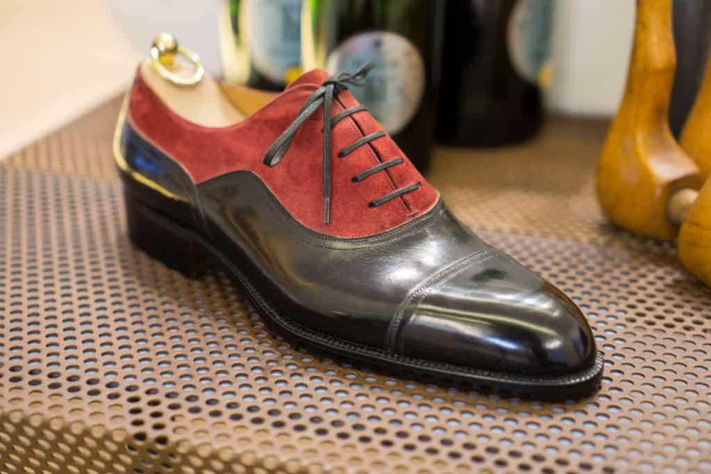 Sample of classical Bemer-shoe.