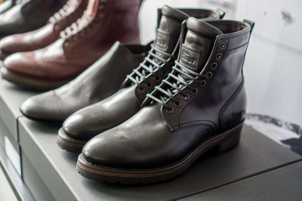 The same model in black cordovan.