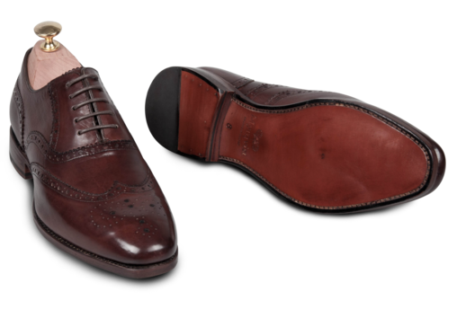 Full brogue, one of the new models now being launched.