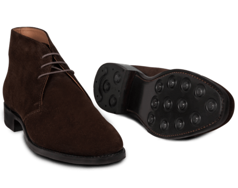 The boots have a single rubber sole. Photos: Men's Style