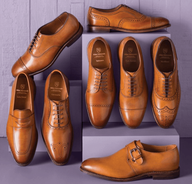Light Brown classics from Allen Edmonds. Images: Allen Edmonds