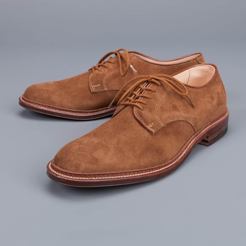 Unlined derby Alden. Photo: Frans Boone