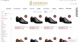 Buying tip - Large sale at Herring Shoes