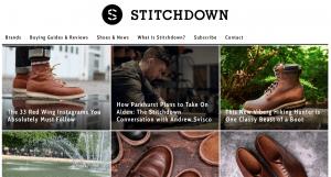 The web tip - Stitchdown