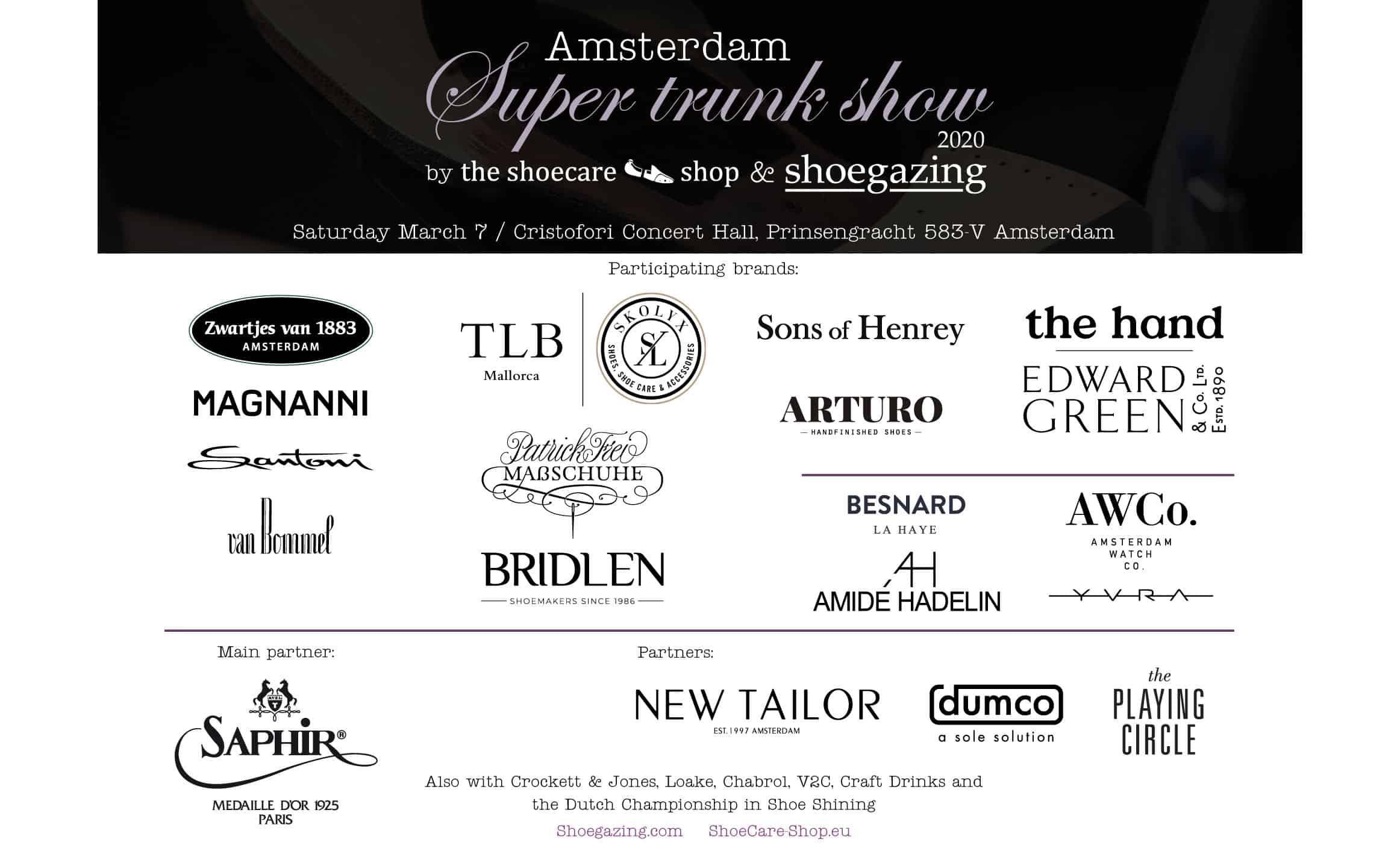 Amsterdam Super Trunk Show 2020